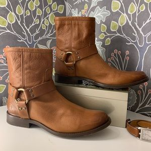 Frey Phillip Harness Boots like new